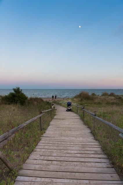 Airstream Park Italien mit strand