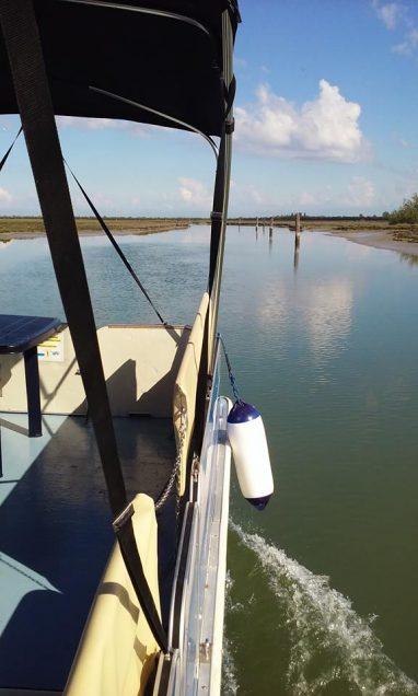 boat excursion in cavallino, venice
