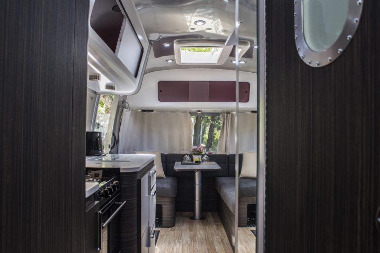 airstream living room - Airstream park in Rome