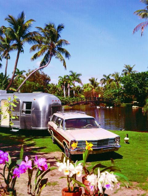 Airstream_Florida in the sixties