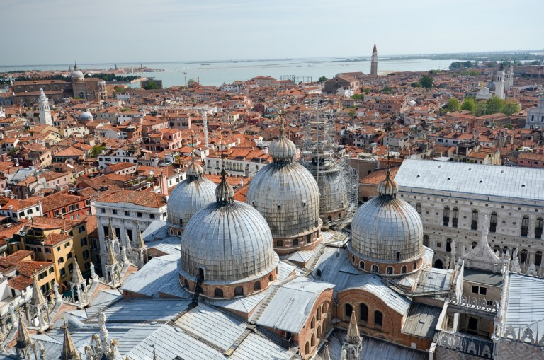 Overview Venice and San Marco square