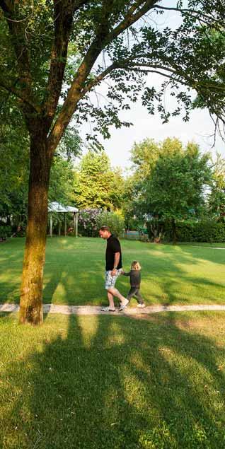 walk inside italy airstream park in venice