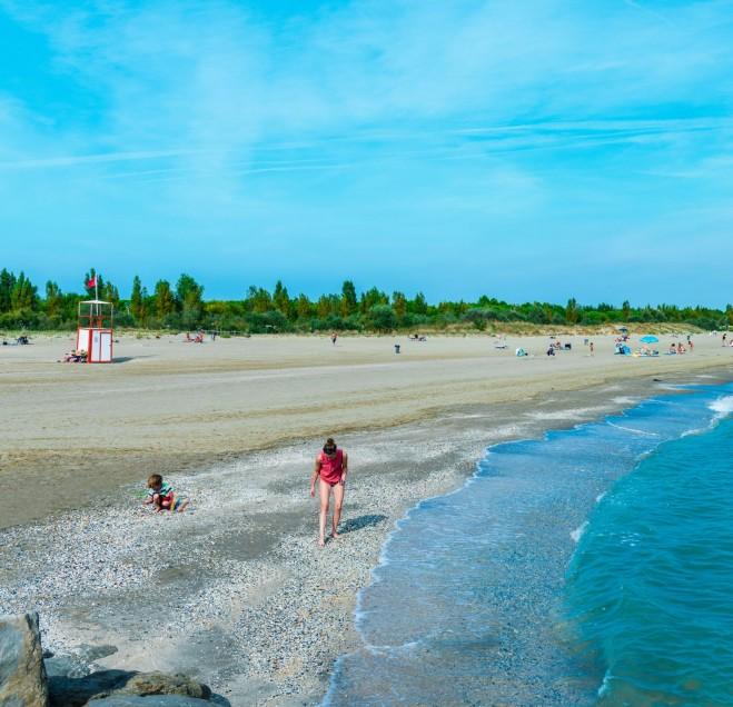 spiaggia Airstream Park venezia