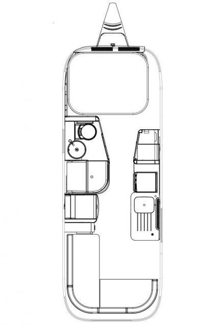 Airstream 604-planimetria - ItalyAirstream
